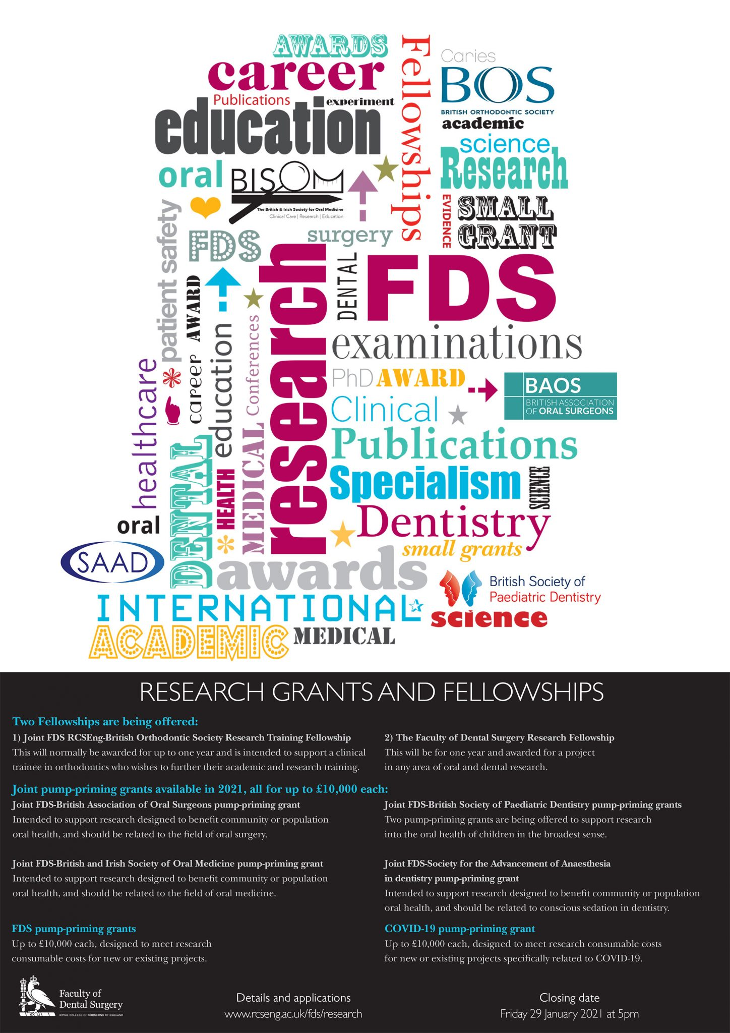 Research grants and fellowships